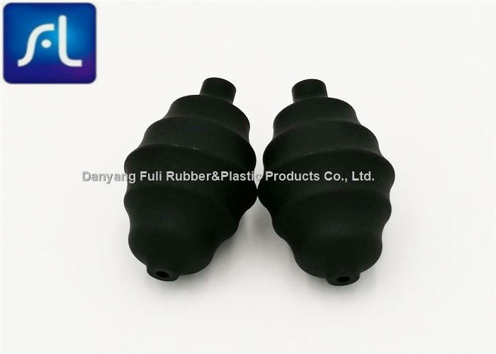 Black Enhanged Suction PVC Bulb For Dusting Small Size Light Weight